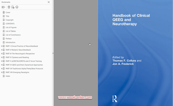 کتاب الکترونیکی Handbook of  Clinical QEEG and Neurotherapy